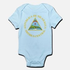 Nicaragua Coat Of Arms Infant Bodysuit