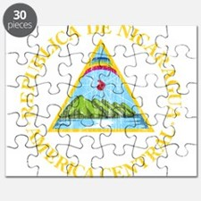 Nicaragua Coat Of Arms Puzzle