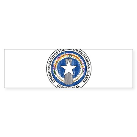 """""""Northern Mariana Islands Coat Of Arms"""" Sticker (B"""