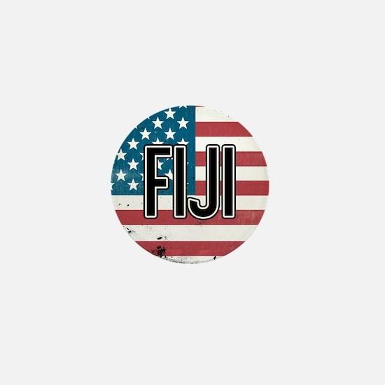Phi Gamma Delta Flag Mini Button