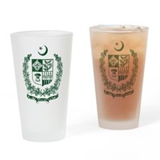 Pakistan Coat Of Arms Drinking Glass