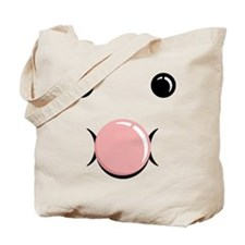 Bubble Blow Face Tote Bag