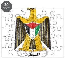 Palestine Coat Of Arms Puzzle