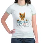 Talk to Your Cat About Catnip Jr. Ringer T-Shirt