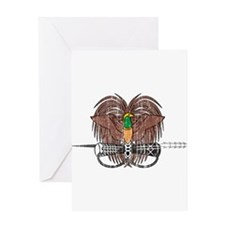 Papua new Guinea Coat Of Arms Greeting Card