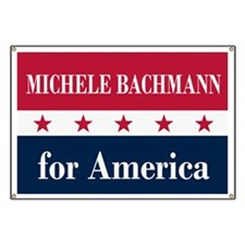 Michele Bachmann for America Banner