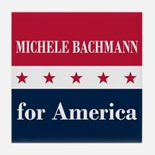 Michele Bachmann for America Tile Coaster