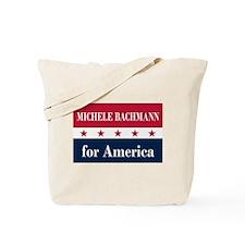 Michele Bachmann for America Tote Bag
