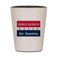 Michele Bachmann for America Shot Glass