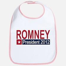 Romney President 2012 Bib