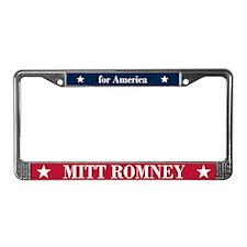 Mitt Romney for America License Plate Frame