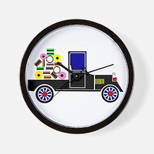 Virtual Cars Wall Clock