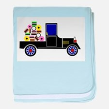 Virtual Cars baby blanket
