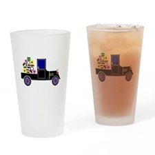 Virtual Cars Drinking Glass