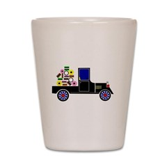 Virtual Cars Shot Glass