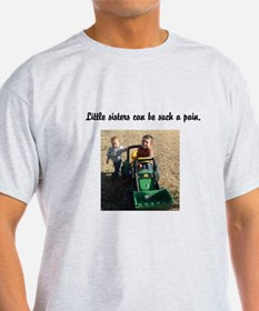Kids Playing on Tractor T-Shirt