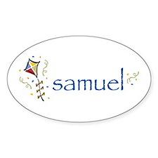 Samuel Oval Decal