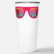 sunglasses summer Stainless Steel Travel Mug