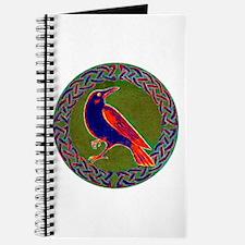 Celtic Crow Multi Color Journal