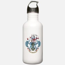 Seychelles Coat Of Arms Water Bottle