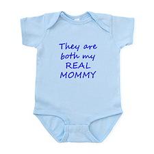 Both My Real Mommy Infant Bodysuit
