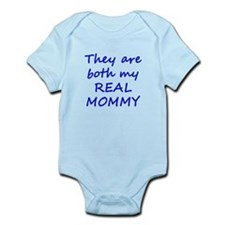 Both My Real Mommy Onesie