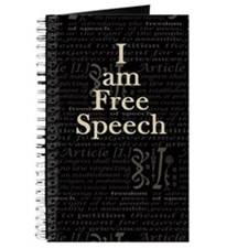 I am Free Speech Dark Journal