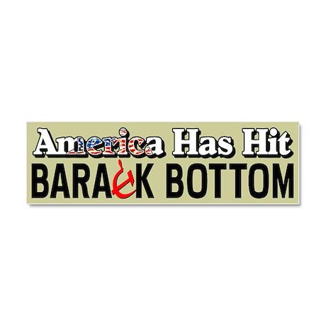 """Barack Bottom"" Car Magnet 10 x 3"