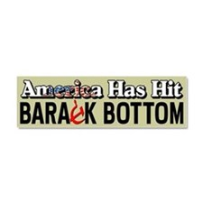 """Barack Bottom"" Car Magnet 10 x 3"