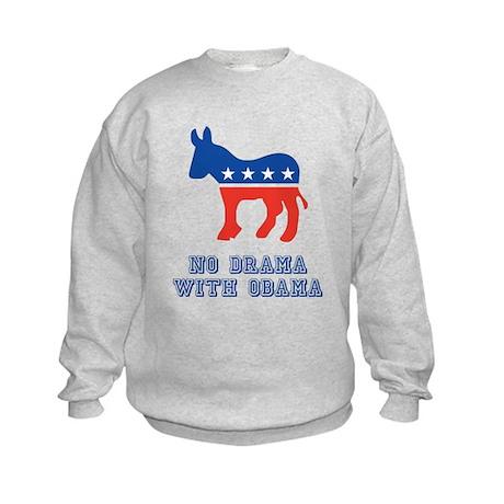 Obama 12 Kids Sweatshirt