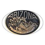 Arizona GC Sticker (Oval)