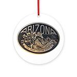 Arizona GC Ornament (Round)
