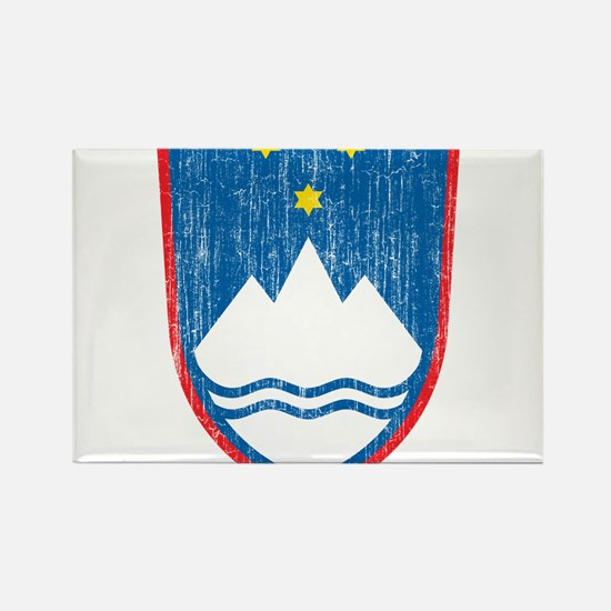 Slovenia Coat Of Arms Rectangle Magnet
