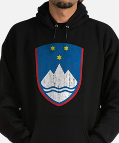 Slovenia Coat Of Arms Hoodie (dark)