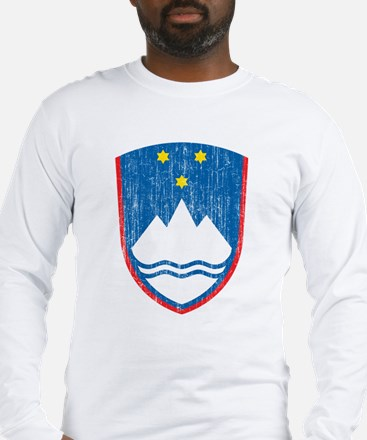 Slovenia Coat Of Arms Long Sleeve T-Shirt
