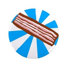 """Bacon Art 3.5"""" Button (100 pack)"""