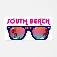 South Beach Miami Aluminum License Plate