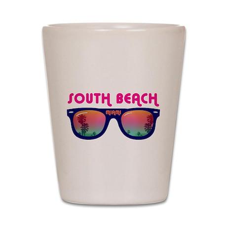 South Beach Miami Shot Glass