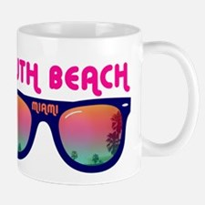South Beach Miami Mug