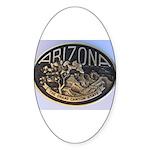 Arizona GC-b Sticker (Oval)