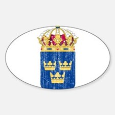 Sweden Lesser Coat Of Arms Decal