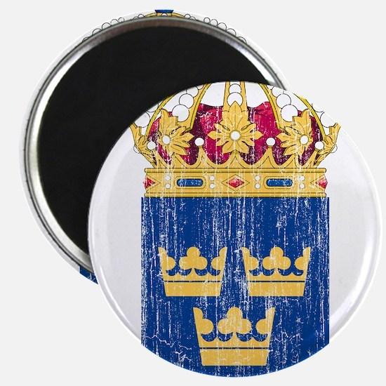 """Sweden Lesser Coat Of Arms 2.25"""" Magnet (10 pack)"""