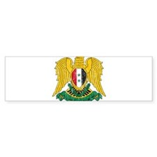Syria Coat Of Arms Bumper Sticker