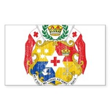 Tonga Coat Of Arms Decal