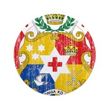"Tonga Coat Of Arms 3.5"" Button (100 pack)"