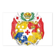 Tonga Coat Of Arms Postcards (Package of 8)