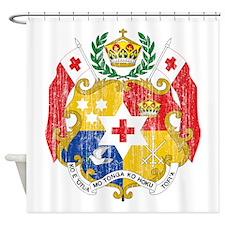 Tonga Coat Of Arms Shower Curtain