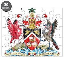 Trinidad and Tobago Coat Of Arms Puzzle