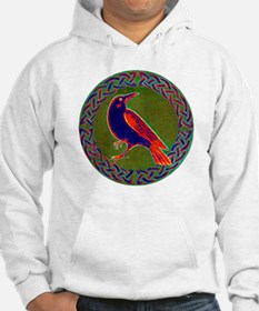 Celtic Crow Multi Color Hoodie