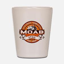 Moab Orange Shot Glass